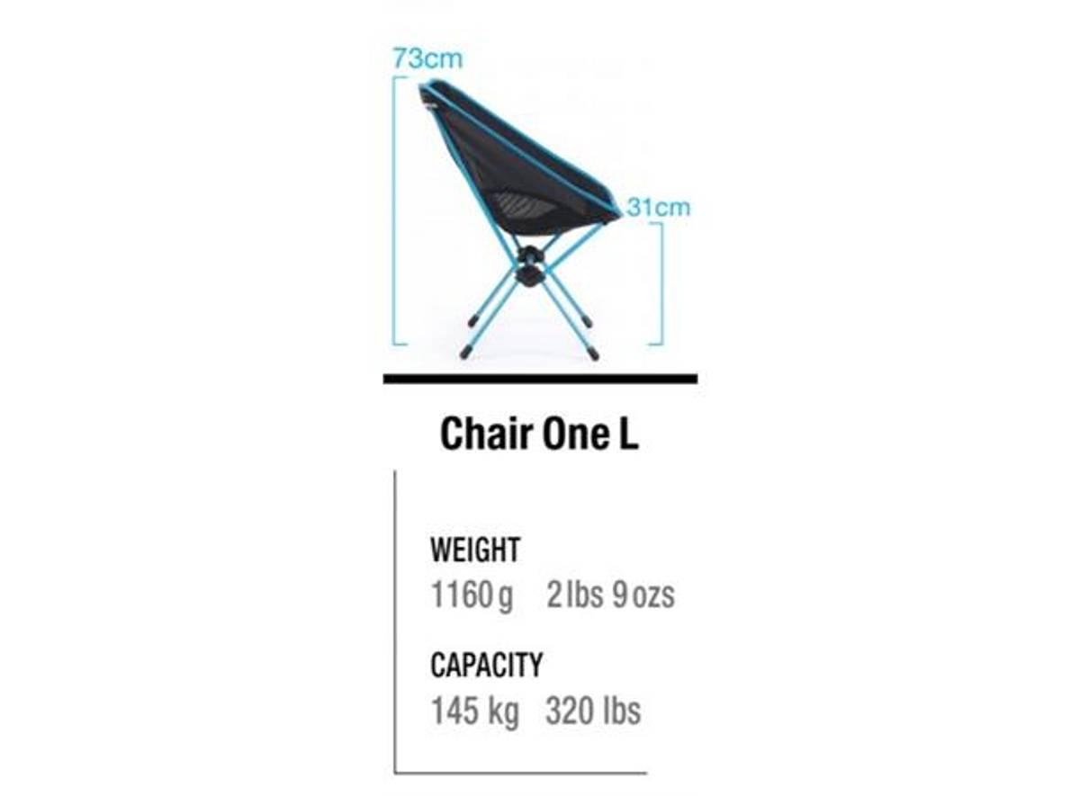 Helinox Chair One XL Black/Blue