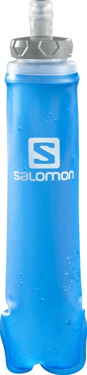 Salomon Soft Flask 500ml./17 oz Clear Blue